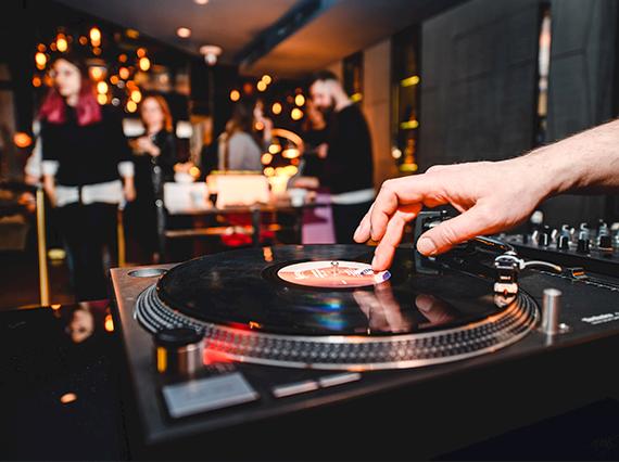 DJ at Panorama Sky Bar