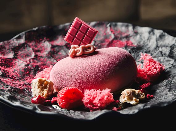 Rubinowy deser